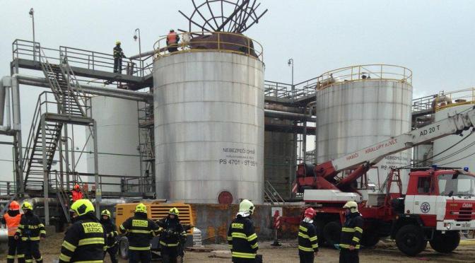 Výbuch v chemickém podniku v Kralupech – šest mrtvých